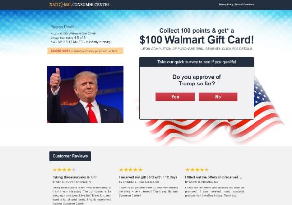 Get $100 Walmart Gift Card Now!