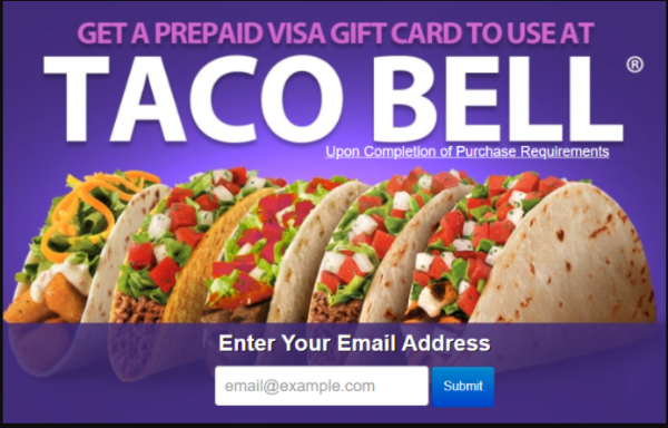 Get a Taco Bell Gift Card!