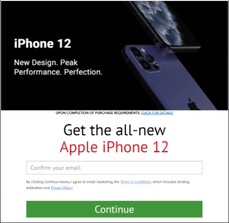 Get the Brand New iPhone 12!