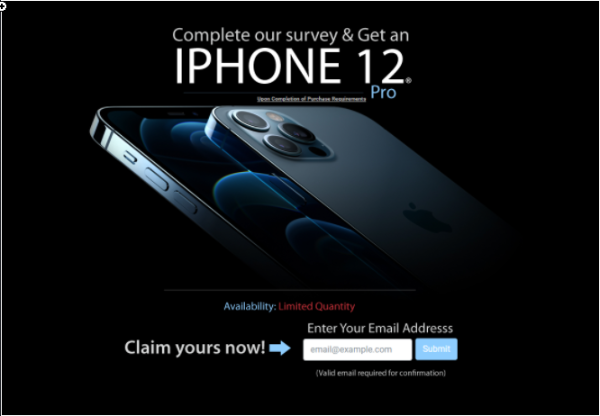 Take a Survey and Get a Brand New iPhone 12!